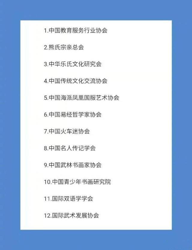 提高警惕!民政部公布12家涉嫌非法社会组织名单